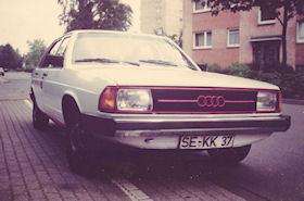 Audi 100 BJ. 1978